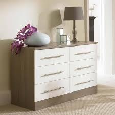 Modern Oak Bedroom Furniture White Chest Of Drawers Modern Oak