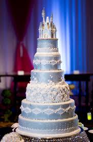 spectacular pink gold disney wedding cake ever after blog
