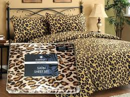 animal print quilts bedding leopard print quilt cover set