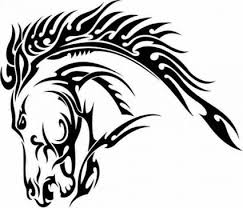 best 25 tribal horse tattoo ideas on pinterest horse tattoo