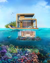 sleep underwater in dubai u0027s u0027floating seahorse u0027 homes underwater