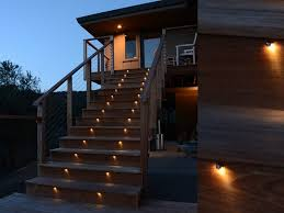 Stair Lights Outdoor Low Voltage Deck Stair Lights New Home Design Ideas For Deck