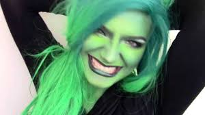 wicked witch halloween tutorial youtube