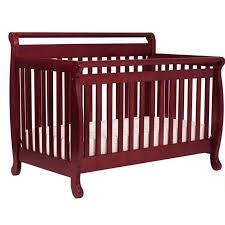 Convertible Baby Cribs Davinci Emily 4 In 1 Convertible Wood Baby Crib In Cherry M4791c