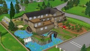 big farm house a big farmhouse with mill set the sims forums