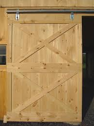 free sliding barn door plans from barntoolbox com diy for the