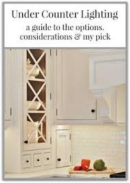 Under Kitchen Cabinet Lighting Options by 25 Best Under Counter Lighting Ideas On Pinterest Diy Cabinet