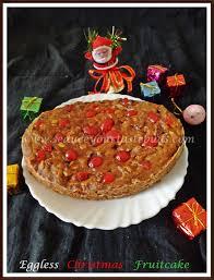 eggless christmas fruit cake 2 no soaking alcohol free