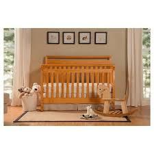 Oak Convertible Crib Davinci Emily 4 In 1 Convertible Crib Honey Oak Convertible Crib