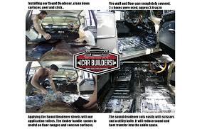 rattletrap car sound deadener sound dampening sheets peel and stick noise