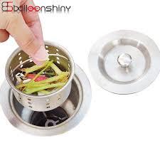 kitchen sink drainer balleenshiny kitchen sink drainer lid pool basket water funnel sink