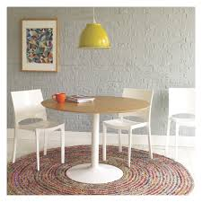 lance 4 seater oak veneer round dining table round dining table
