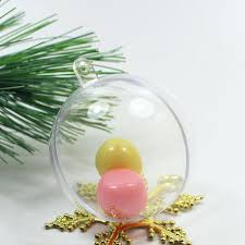 clear plastic tree ornaments clear plastic shapes poly