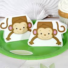 baby shower monkey monkey boy baby shower decorations