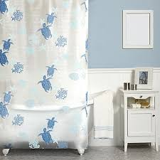 India Shower Curtain India Ink Solomon Islands 70 Inch X 72 Inch Shower Curtain In Blue