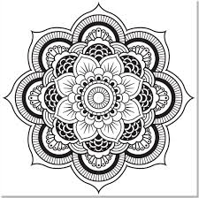 mandala coloring pages stress relief best of mandala designs