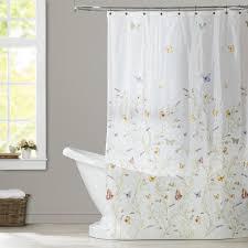 Airplane Shower Curtain August Grove Ramona Garden Flight Shower Curtain U0026 Reviews Wayfair
