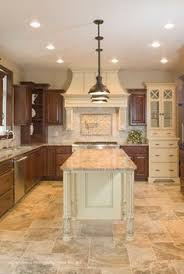 Tile Floor Kitchen Traditional Home Traditional Kitchens Design Pictures Remodel