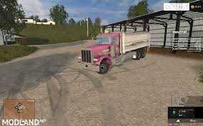 peterbilt 379 grain truck mod for farming simulator 2015 15 fs