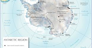 map of antarctic stations antarctica according to a boilermaker named davis station