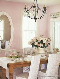 i love the pink walls for the home pinterest pink dining