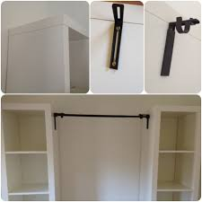 Wardrobe Organiser by Diy Wardrobe U2013 Process Shelves Ikea Curtains And Rest Room