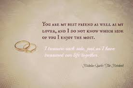 wedding quotes nicholas sparks quotes from nicholas sparks books image quotes at relatably