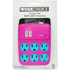 Workchoice Outdoor Grounded Outlet With workchoice 6 outlet indoor surge 245 joules tap with usb total