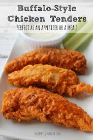 buffalo style chicken tenders recipe buffalo dinners and