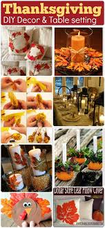 diy thanksgiving decor crafts 58 dollar store decors tablesetting