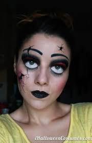 Halloween Costumes Broken Doll 20 Cool Easy Halloween Makeup Ideas Wonderland