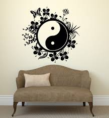 popular art philosophy buy cheap art philosophy lots from china wall decal chinese style vinyl sticker tai chi philosophy butter flower bedroom living room home house