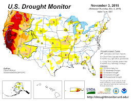 Dry Counties In Usa Map by Drought October 2015 State Of The Climate National Centers