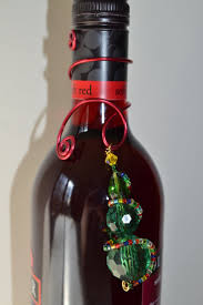 34 best christmas bottle toppers images on pinterest wine