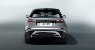 maroon range rover evoque introducing the range rover velar
