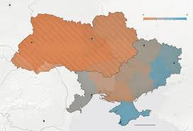 Nytimes Election Map by With President U0027s Departure Ukraine Looks Toward A Murky Future