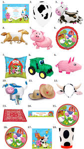 Barn Animal Party Supplies Animal Birthday Party Clipart 56