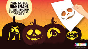 Zero Nightmare Before Christmas Pumpkin Carving Patterns by Fun And Free Printable Themed Pumpkin Carving Stencils U2014 All For