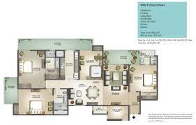 floor plan mahagun moderne