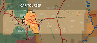 capitol reef national park map capitol reef national park information wayne county