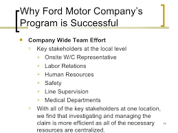 ford motor company human resources ford motor company administration of self insured self