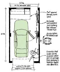 one car garage size download standard size of a single garage