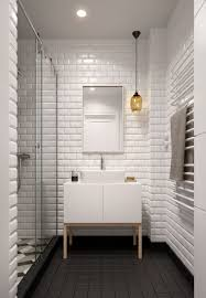 Bathroom Floor Tile Designs Bathroom Black And White Subway Tile Bathroom Ideas Tiles