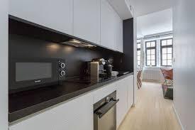 aménager sa cuisine dans couloir exemples côté maison
