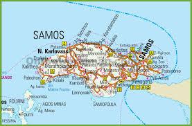 Thessaloniki Greece Map by Samos Maps Greece Maps Of Samos Island
