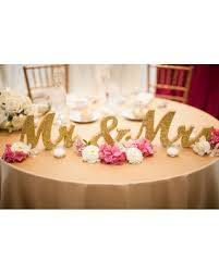 mr and mrs sign for wedding find the best deals on gold glitter mr and mrs signs wedding