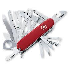 Swiss Kitchen Knives Swisschamp Swiss Army Knife By Victorinox At Swiss Knife Shop