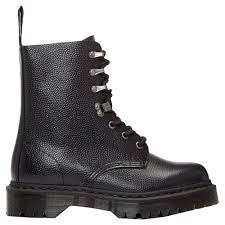 dr martens para pebble black mens boots ebay