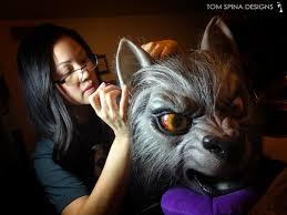 halloween werewolf props creepily cute u201camerican werewolf in london u201d inspired puppet pups