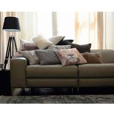 Low Back Leather Sofa Style Guide To Leather Sofas Ideal Home